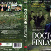 DOCTOR FINLAY PART ONE (2002) R1 DVD COVER & LABEL