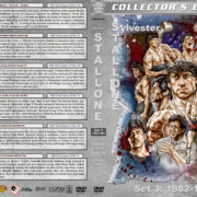 Sylvester Stallone Filmography - Set 3 (1982-1986) R1 Custom DVD Cover