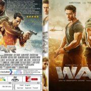 War (2019) R0 Custom DVD Cover & Label