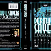 DOROTHY L SAYERS MYSTERIES GAUDY NIGHTS (2002) R1 DVD COVER & LABEL
