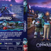 Onward (2020) R1 Custom DVD Cover & Label