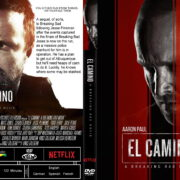 El Camino: A Breaking Bad Movie (2019) R1 Custom DVD Cover & Label