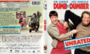 DUMB AND DUMBER (1994)  UNRATED R1 BLU-RAY COVER & LABEL