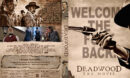 Deadwood The Movie (2019) R1 Custom DVD Cover & Labels