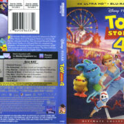 Toy Story 4 (2019) R1 4K UHD Cover & Labels