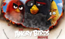 The Angry Birds Movie (2016) R1 Custom DVD label