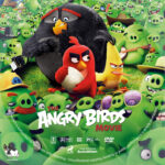 The Angry Birds Movie (2016) R1 Custom DVD Label V2