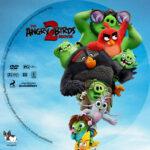 The Angry Birds Movie 2 (2019) R1 Custom DVD label v2