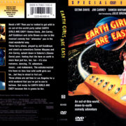 EARTH GIRLS ARE EASY (1988) R1 DVD COVER & LABEL