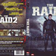 The Raid 2 (2014) R2 German DVD Cover