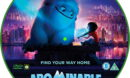 Abominable (2019) R2 Custom DVD label