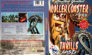 AMERICA'S GREATEST ROLLER COASTER THRILLS IN 3D (1994) R1 DVD COVER & LABEL