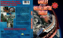WORLD'S GREATEST ROLLER COASTER THRILLS IN 3D (1994) R1 DVD COVER & LABEL