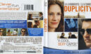 Duplicity (1009) R1 Blu-Ray Cover & Label