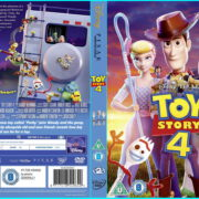 Toy Story 4 (2019) R2 Custom DVD Cover & Label