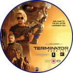 Terminator: Dark Fate (2019) R2 Custom DVD Label