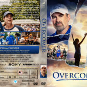 Overcomer (2019) R1 Custom DVD Cover & Labels