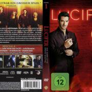 Lucifer-Staffel 1 (2016) R2 German DVD Cover