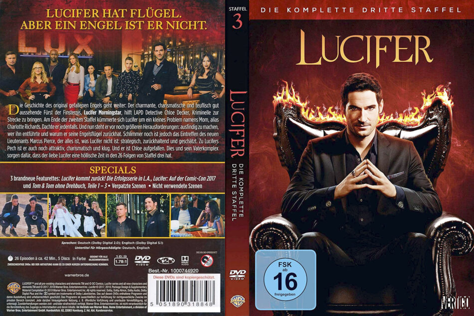 Lucifer Staffel 3 Deutsch