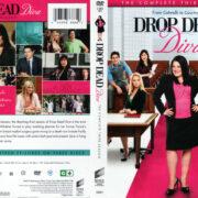 DROP DEAD DIVA SEASON 3 (2011) R1 SLIM DVD COVER & LABELS