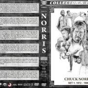 Chuck Norris Filmography - Set 1 (1972-1980) R1 Custom DVD Cover