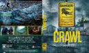 Crawl (2019) R1 Custom DVD Cover & Label