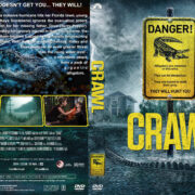 Crawl (2019) R1 Custom DVD Cover & Label