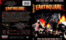 EARTHQUAKE (1974) R1 DVD COVER & LABEL