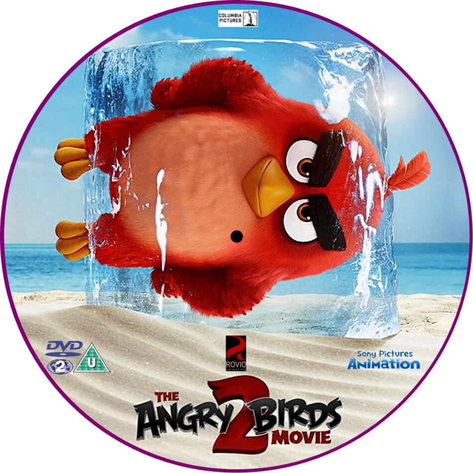 The Angry Birds Movie 2 2019 R2 Custom Dvd Label Dvdcover Com