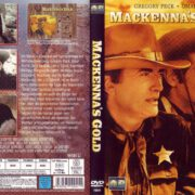 MacKenna's Gold (1969) R2 German DVD Cover