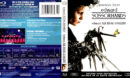 EDWARD SCISSORHANDS (1990) R1 BLU-RAY COVER & LABEL