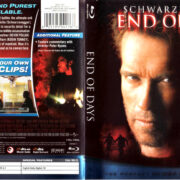 END OF DAYS (1999) R1 BLU-RAY COVER & LABEL