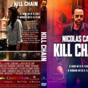 Kill Chain (2019) R1 Custom DVD Cover & Label