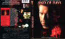 END OF DAYS (2000) R1 DVD COVER & LABEL