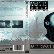 ARMIN VAN BUUREN ARMIN ONLY THE NEXT LEVEL (2006) DVD COVER & LABEL