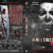 Halloween II (1981) R2 German Custom DVD Cover
