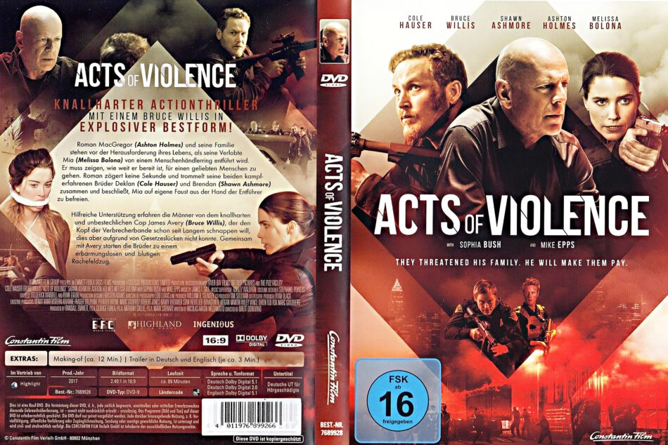 Acts Of Violence Deutsch
