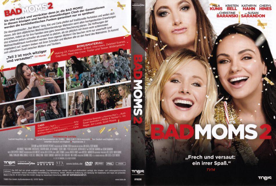 Bad Moms 2 2018 R2 German Dvd Cover Dvdcover Com
