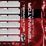 Terminator Collection (6) R1 Custom Blu-Ray Cover