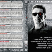 Terminator Collection (6) R1 Custom DVD Cover