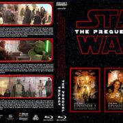Star Wars - The Prequel Trilogy R1 Custom Blu-Ray Cover