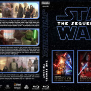 Star Wars - The Sequel Trilogy R1 Custom Blu-Ray Cover