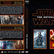 Star Wars - The Anthology R1 Custom DVD Cover