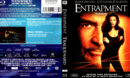 ENTRAPMENT (1999) R1 BLU-RAY COVER & LABEL