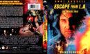 ESCAPE FROM L.A. (1996) R1 BLU-RAY COVER & LABEL