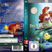 Arielle die Meerjungfrau (Custom) (2013) R2 German DVD Covers & Label