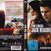 Jack Reacher - Kein Weg Zurück (2017) R2 German DVD Cover