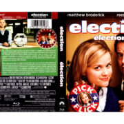 ELECTION (1999) R1 BLU-RAY COVER & LABEL