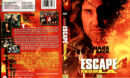 ESCAPE FROM L.A. (1996) R1 DVD COVER & LABEL