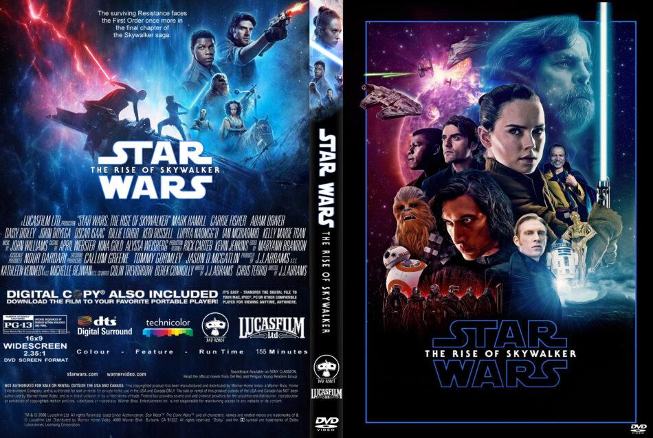 Star Wars Rise Of Skywalker 2019 R1 Custom Dvd Cover Label Dvdcover Com